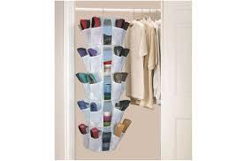 image of hanging new shoe organizer ideas