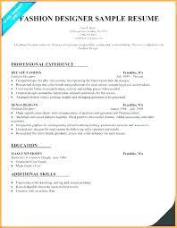 Resume Draft Fascinating Fashion Model Resume Example Examples Best Of Designer For Sample