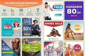 Instagram Banner Design 17 Social Media Banners To Improve Your Web Presence 2017