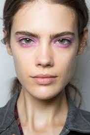 dramatic pink eyes lips