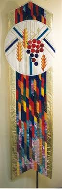 99 best Church banners and alters images on Pinterest | Alters ... & Margaret Mary Alacoque Church - Designed for the dedication of the new  church, this quilted banner reflections the lin. Adamdwight.com