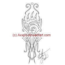 In this video, we are draw a paw tattoo design. Tribal Bear Paw Tattoo By Axxyn On Deviantart