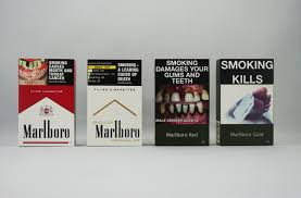 Cigarette Packs Are Being Stripped Of Advertising Around The