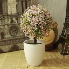 artificial topiary tree ball plants in pot garden home decor outdoor indoor artificial topiary tree ball plants pot garden