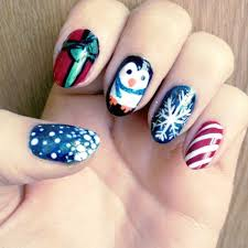 Easy Christmas Nail Art Designs: Trend manicure ideas 2017 in pictures