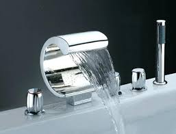 bathtub waterfall faucet appealing waterfall bathroom faucet waterfall faucet is beautifully designed and has a graceful