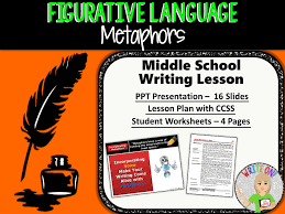 FIGURATIVE LANGUAGE BUNDLE - 8 LESSONS!!!!! - Middle School by ...