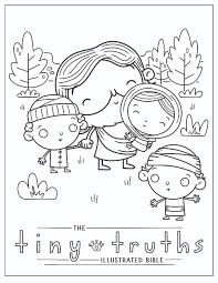 Free birthday coloring pages, choose from more than 1000 coloring pages to print. Tiny Truths Coloring And Crafts Tiny Truths Illustrated Bible