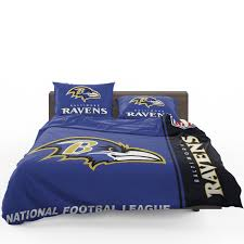 nfl baltimore ravens bedding comforter set