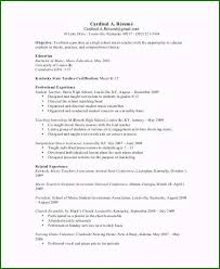Music Teacher Resume Original Sample Teacher Resume 9
