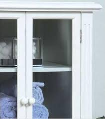 image of curio bathroom cabinet design glass doors jpg