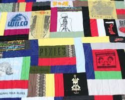 How to Make an Out-of-the-Ordinary T-Shirt Quilt: Part Two ... & A close-up of the quilting on my T-shirt throw. I love Adamdwight.com
