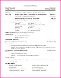 12 Internship Resume Sample For College Students