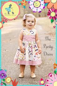 Toddler Dress Patterns Awesome The Party Dress Free Pattern Rerelease The Cottage Mama