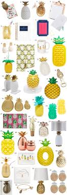 Small Picture The Best Pineapple Home Decor Office and Gift Items Ashley