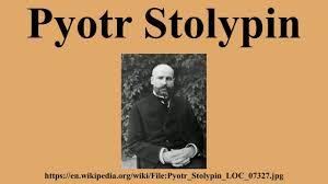 Pyotr Stolypin - YouTube