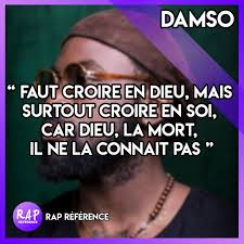 Rapreference Rap Référence Punchline At Thedamso Damso
