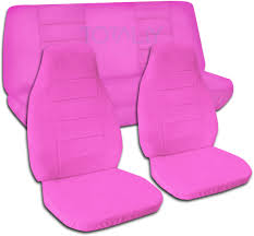 jeep wrangler hot pink car seat covers