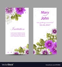 Weding Card Designs Set Of Wedding Invitation Cards Design