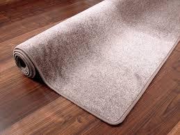 Edel Velours Teppich Pearl Taupe Teppiche Veloursteppiche