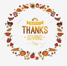 Word Thanksgiving Thanksgiving Element Art Word Thanksgiving Element Turkey