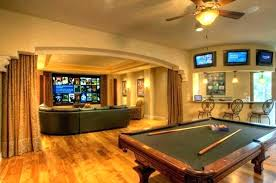 pool table room decorating ideas decor small spaces wall decorations