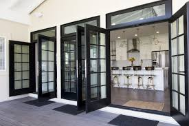 open french doors. Beautiful Open Triple French Doors Off The Kitchen Open Up To Let Outdoors In Patio  Porch Deck Ideas Home Decor Black Inside Open French Doors