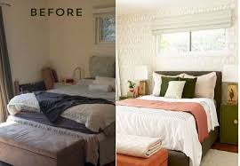 Charming Small Bedroom Makeovers Before And After