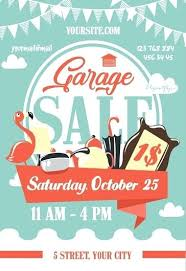 Garage Sale Flyer Template Free Donations Wanted For The On