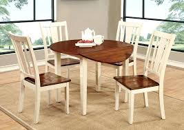 round drop leaf dining table dining room ll white cherry round drop leaf dining table drop