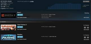 dota 2 weird update 0 0 bytes yet network usage shows i m