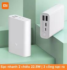 Pin sạc dự phòng 10000mAh Xiaomi Pocket PB1022ZM sạc nhanh cho iphone và  các dòng điện thoại