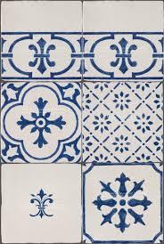 Blue And White Decorative Tiles Claude Monet's Blue and White Decorative Kitchen Back Splash Tiles 63
