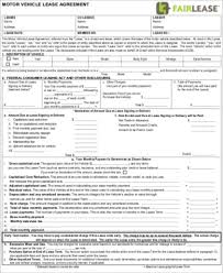 Commercial Truck Lease Agreement Stunning 48 Sample Vehicle Lease Agreements Sample Templates