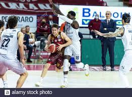 Venezia, Italy. 11th Apr, 2021. Andrea De Nicolao (Umana Reyer Venezia)  contrastato da Jeremiah Wilson (Germani Brescia) durante Umana Reyer  Venezia vs Germani Brescia, Campionato di Basket Serie A in Venezia, Italy,