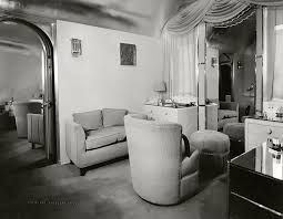 Inside Marion Davies Portable Star Trailer In The S - 1930s house interiors
