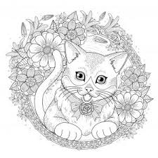 Kitty cat is a favorite animal to a lot of kids. Cats Coloring Pages For Adults