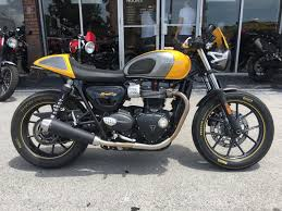 triumph street cup motorcycles