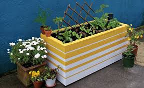 make container growing easier than ever with this self watering planter box