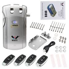 Wafu <b>Wf</b>-<b>010</b> Wireless <b>Electronic</b> Door Keyless Invisible Intelligent Loc