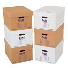 Document Storage Boxes Pack Of 20
