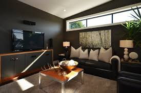 Tv Room Ideas For Families Decorating Dark Brown Wall Paint For Small  Family Room Design