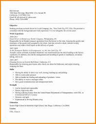 commercial truck driver resume sample  driverresume
