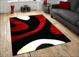 red white blue area rug abstract gy black