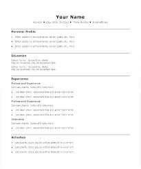 Download Resume Templates Word Free Traditional Resume Templates Word Free Sample Template