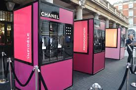 Latest Vending Machine Trends Delectable Trends Chanel Jumps On Vending Trend With A Machine Dispensing