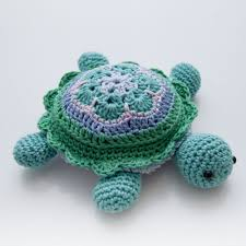Free Crochet Turtle Pattern Enchanting Crochet African Flower Pincushion Free Pattern Tina Turtle Step By
