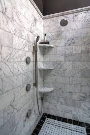 Corner Shelf Designs For Bathroom Bathroom Practical Shower Corner Shelves Walk Shower