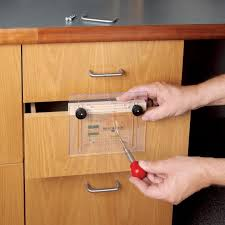 furniture pull. rockler drawer pull jig it template and center punch furniture