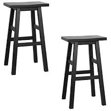 jahom bar stool black set of 2